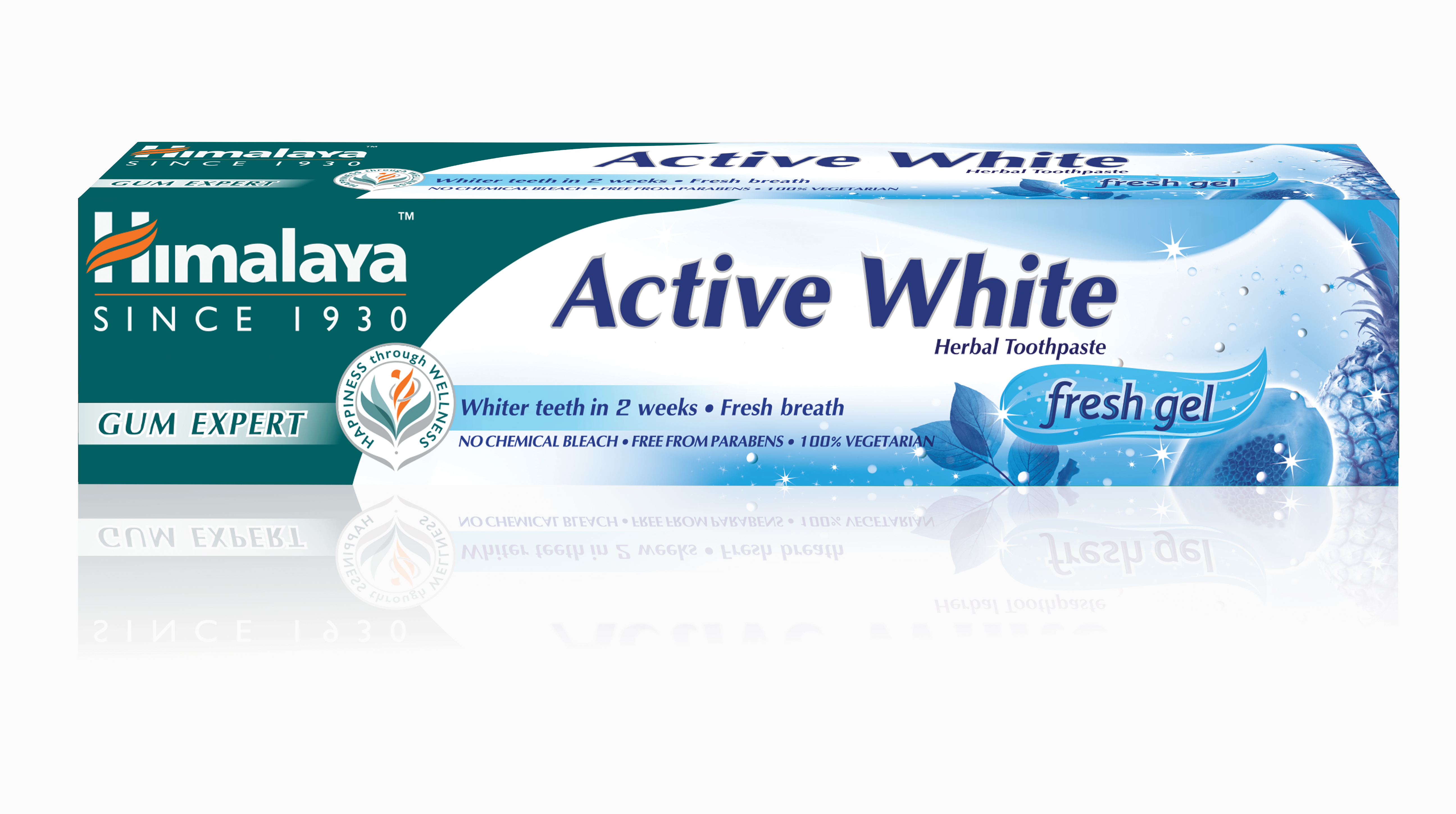 Himalaya Zubná pasta Active White fresh gel 75ml