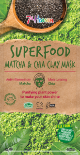 7th Heaven Superfood ílová maska Matcha & chia 10g